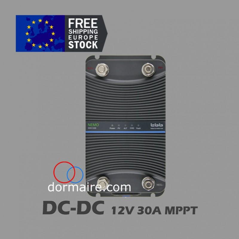 cargador de batería dc dc 12V 30A MPPT NEMO DDX1230