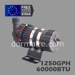 water pump marine aircon 1250GPH 60000BTU