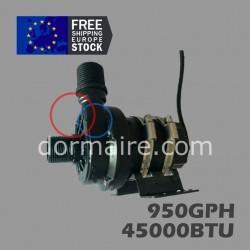 bomba agua climatización barco 950GPH 45000BTU
