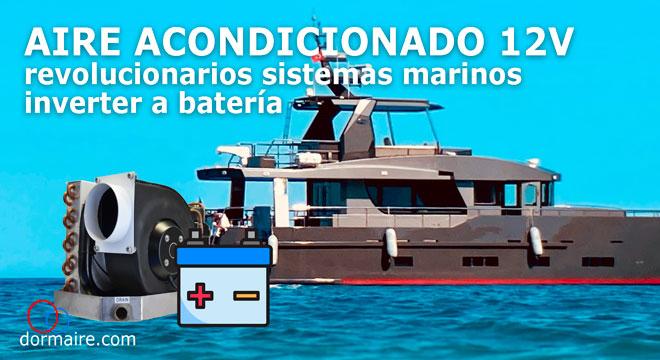 aires acondicionados para barcos a 12V