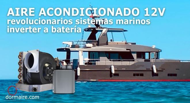 aires acondicionados marinos a 12 voltios