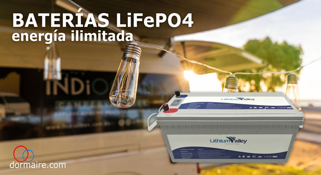 baterías de litio LiFePO4