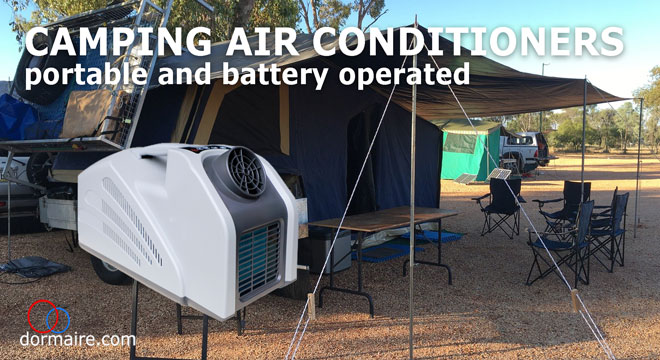 battery powered camping air conditioners