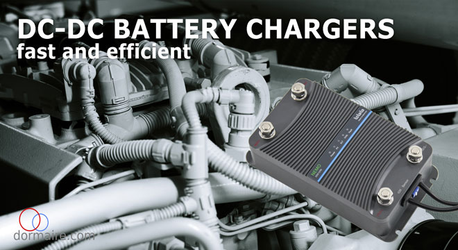 DC-DC battery booster chargers