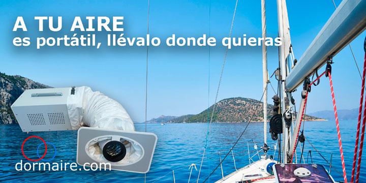 aire acondicionado portatil embarcaciones de recreo