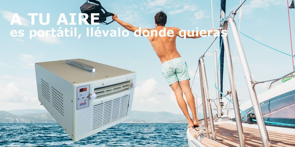 aire acondicionado portatil nautico