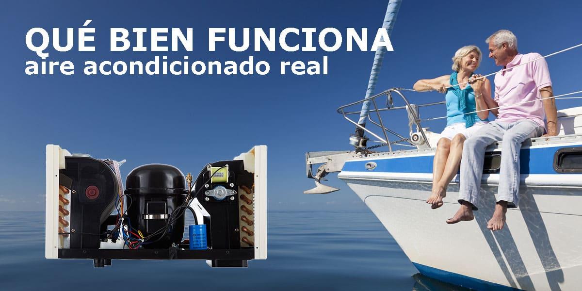 compresor aire acondicionado barco