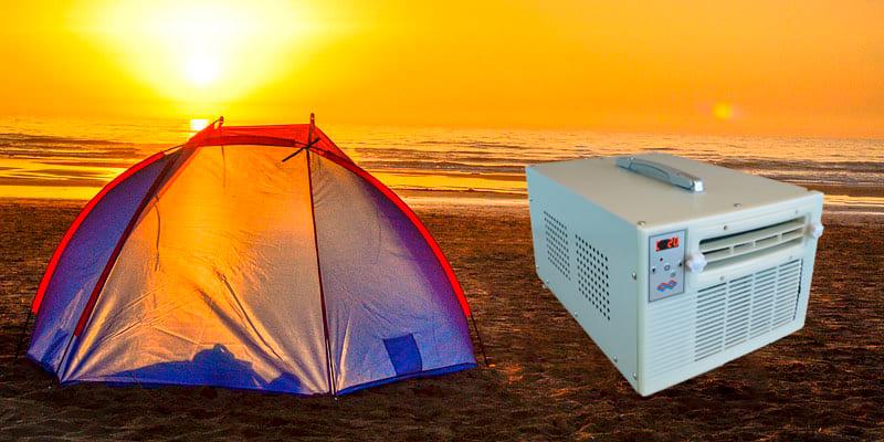 aire acondicionado camping